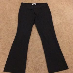 GAP Charcoal Gray Modern Boot Trousers 6A